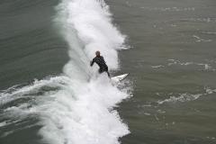Morro Strand State Beach Surfer