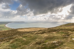 View on Hell's Mouth (Porth Neigwl), Aberdaron North - Wales
