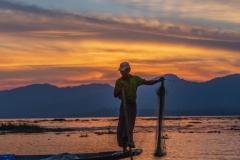 Fisher man Inle Lake