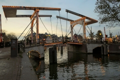the Walter Süskindbridge, Amsterdam